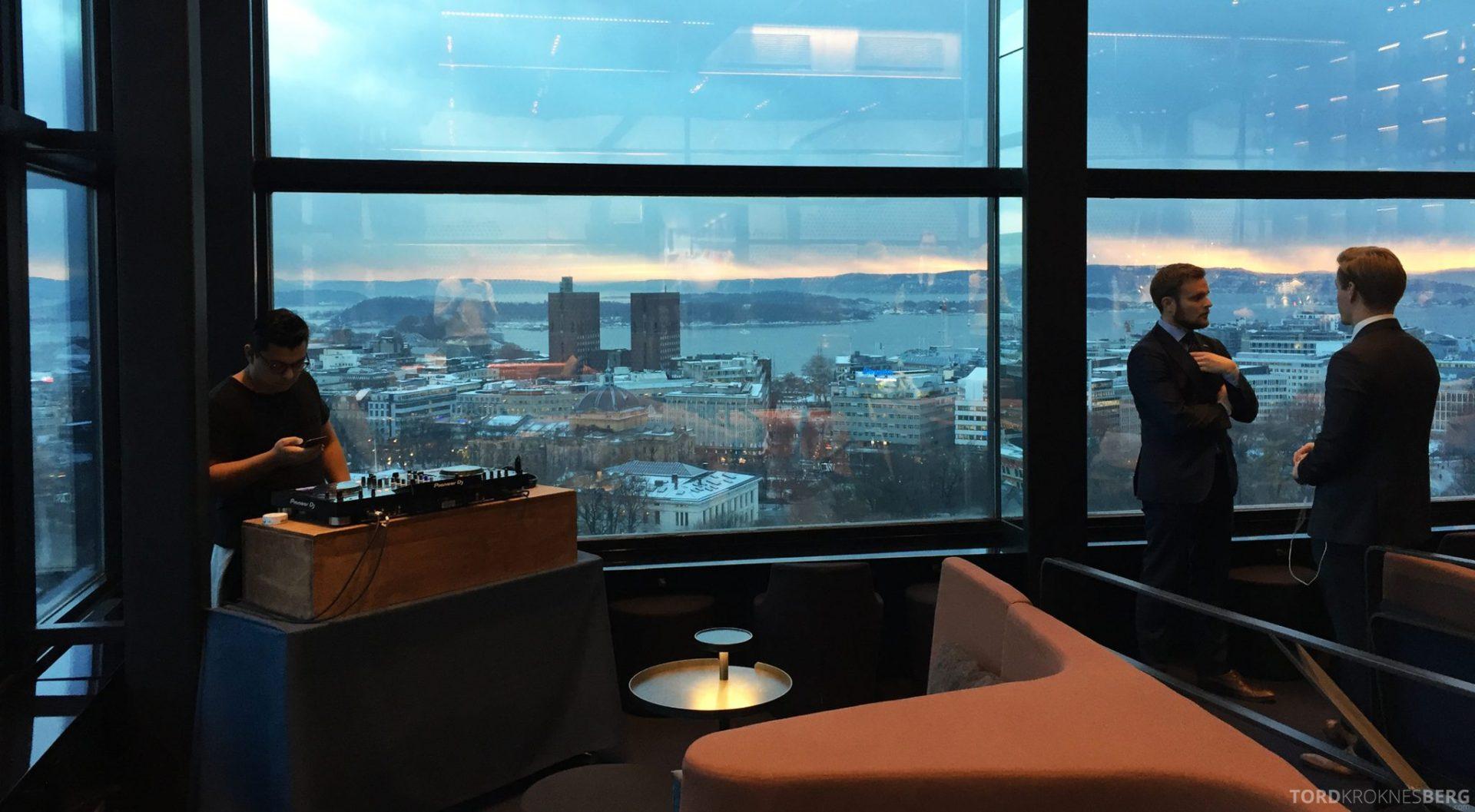 Summit Bar Oslo utsikt