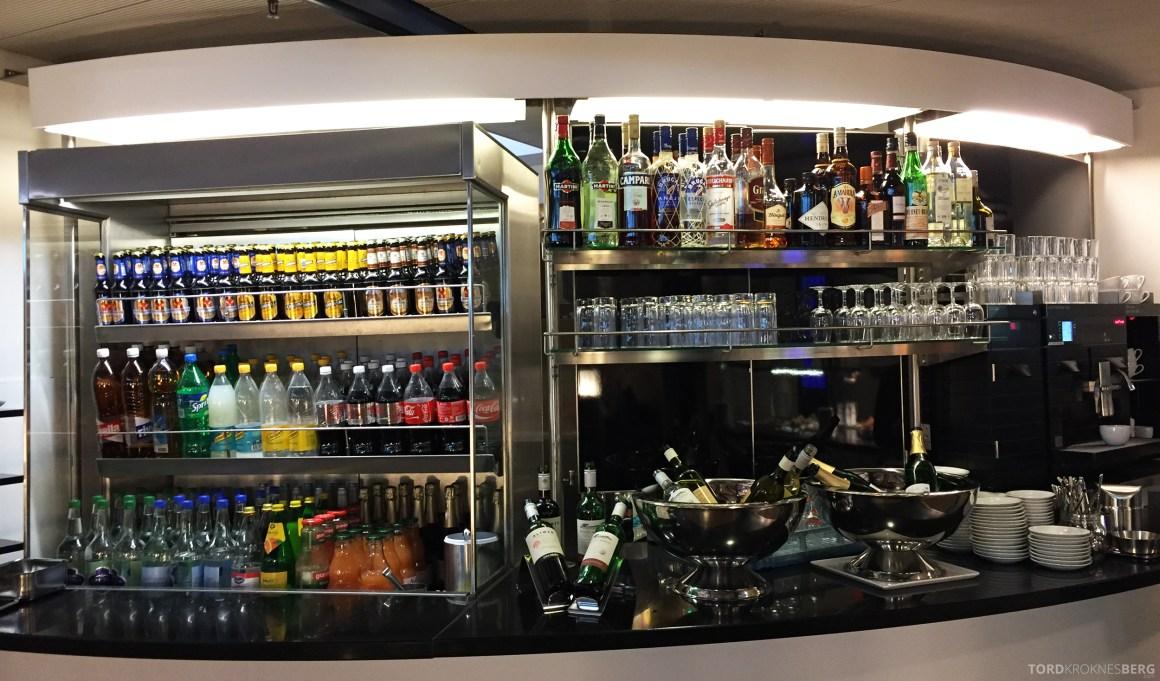 Swiss Senator Lounge Zurich drikke