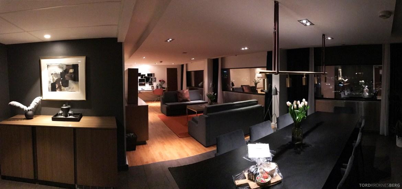 Radisson Blu Scandinavia Hotel suite panorama