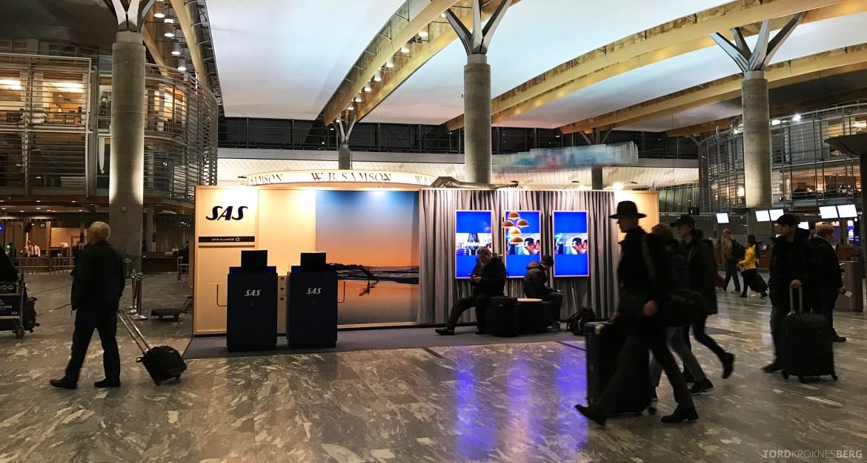 SAS Plus Barcelona avgangshall