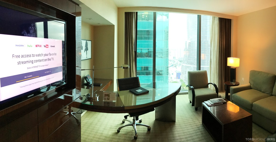 JW Marriott Marquis Miami panorama stue