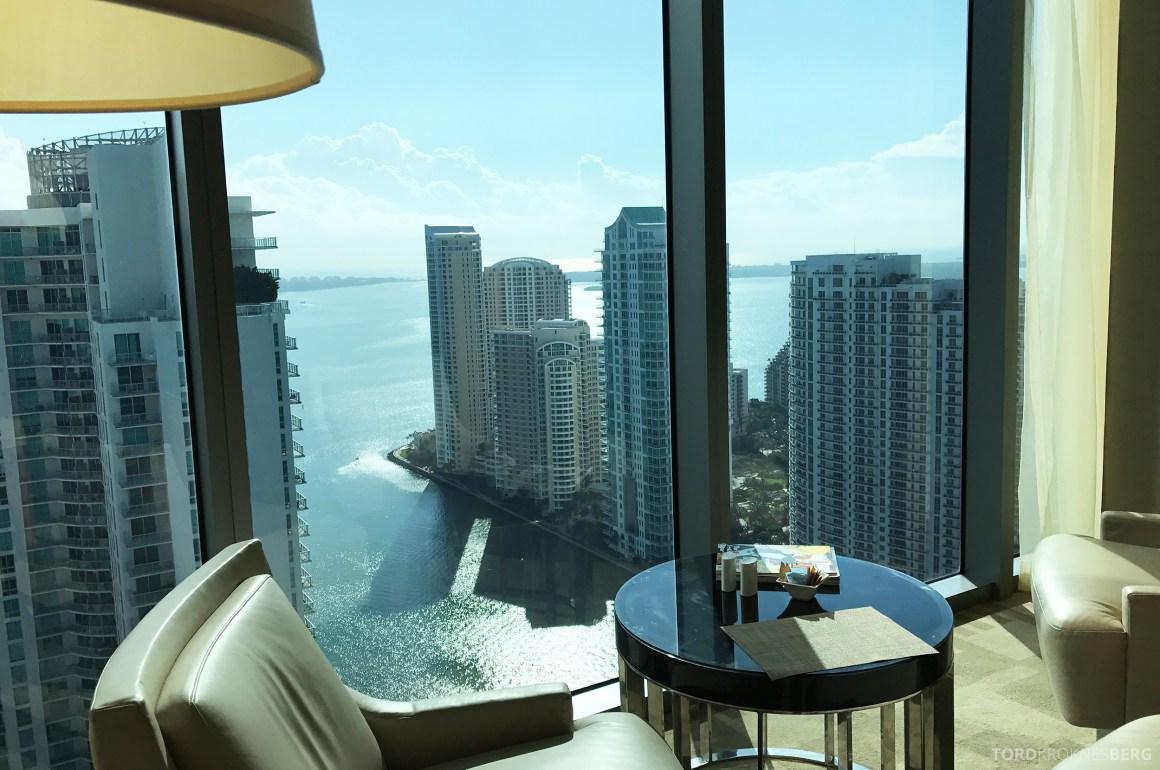 JW Marriott Marquis Miami Executive Lounge utsikt