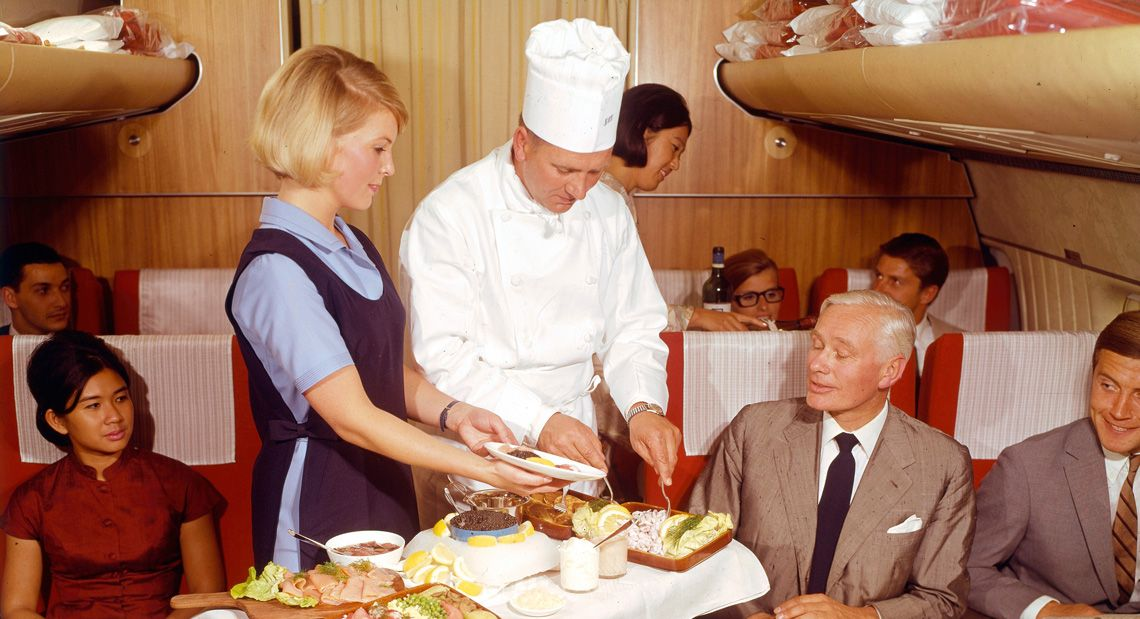 SAS mat ombord 60-tallet