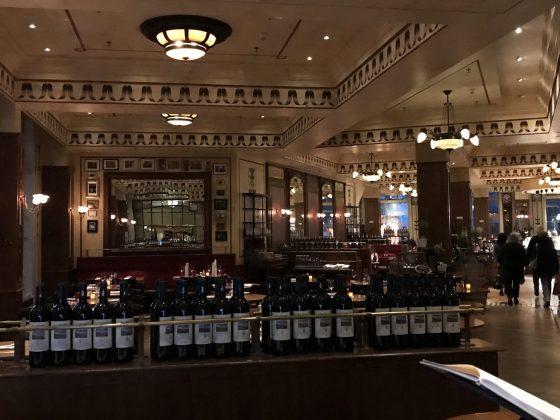 Brasserie Desbrosses Ritz-Carlton Berlin utsikt