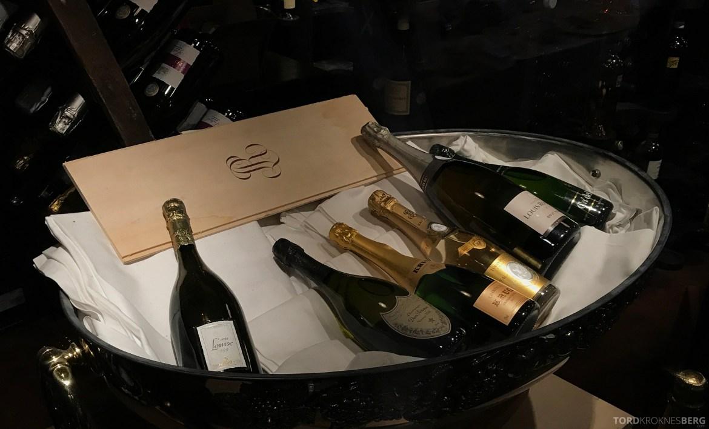 Louise Restaurant Bar Aker Brygge champagne