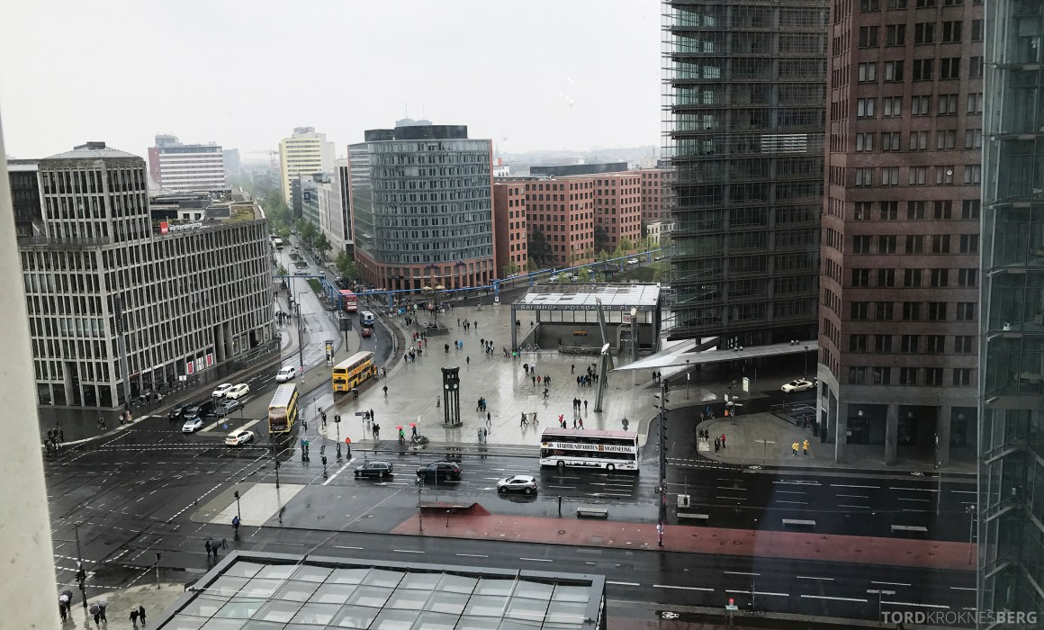 Ritz-Carlton Berlin Presidential Suite utsikt