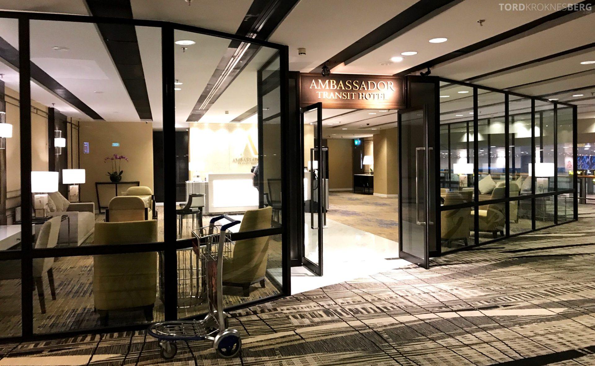 Ambassadeur Transit Hotel Changi inngang