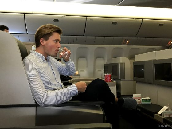 Turkish Airlines Business Class Istanbul Jakarta Tord Kroknes Berg