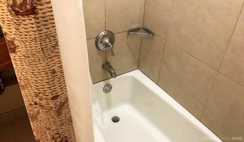 Hilton San Francisco Hotel badekar