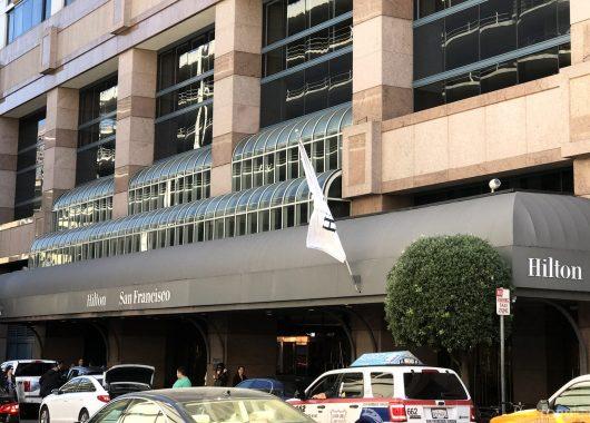 Hilton San Francisco Hotel hovedinngang