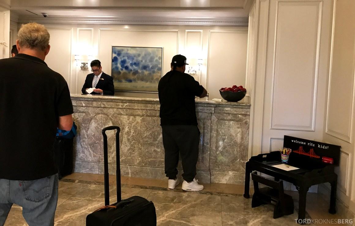 Ritz-Carlton San Francisco Hotel resepsjon