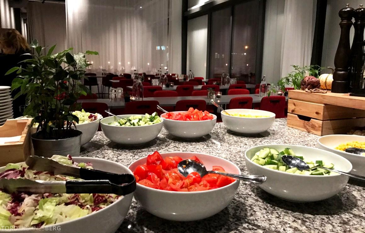 First Hotel Arlanda grønnsaker buffet