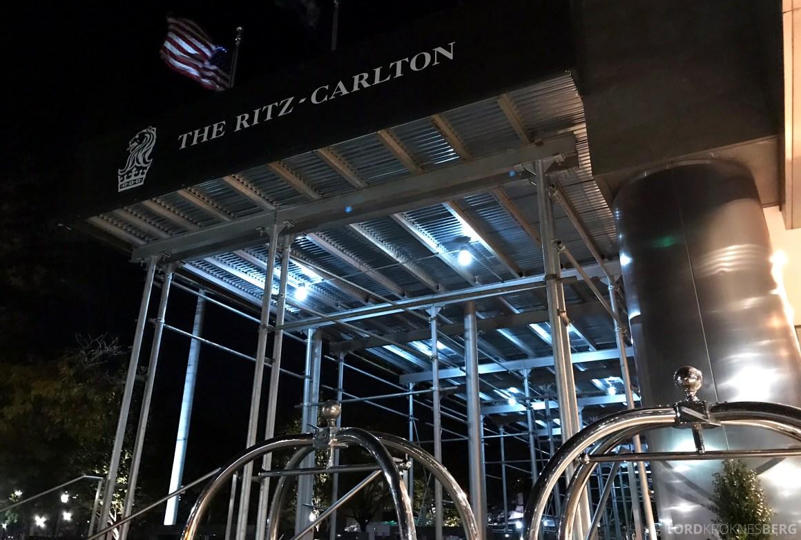 Ritz-Carlton Battery Park New York inngang