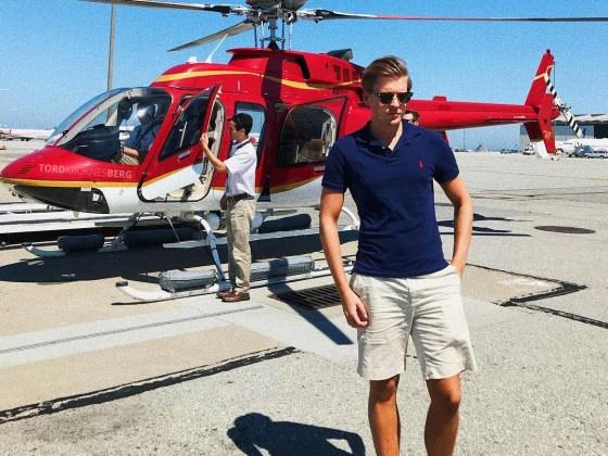 San Francisco Helicopter Tour Tord Kroknes Berg