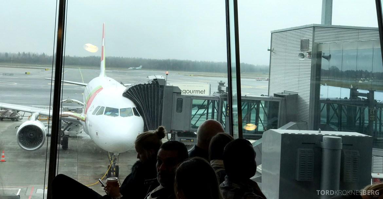 TAP Portugal Oslo Lisboa fly
