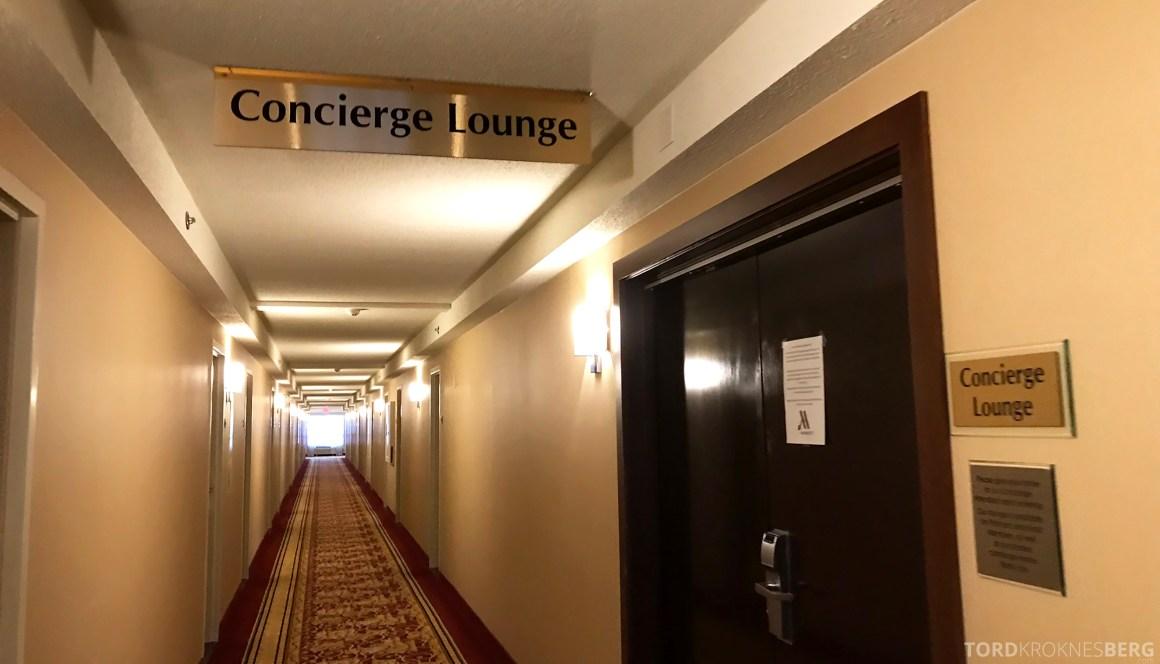 Marriott Bloomington Hotel Concierge Lounge