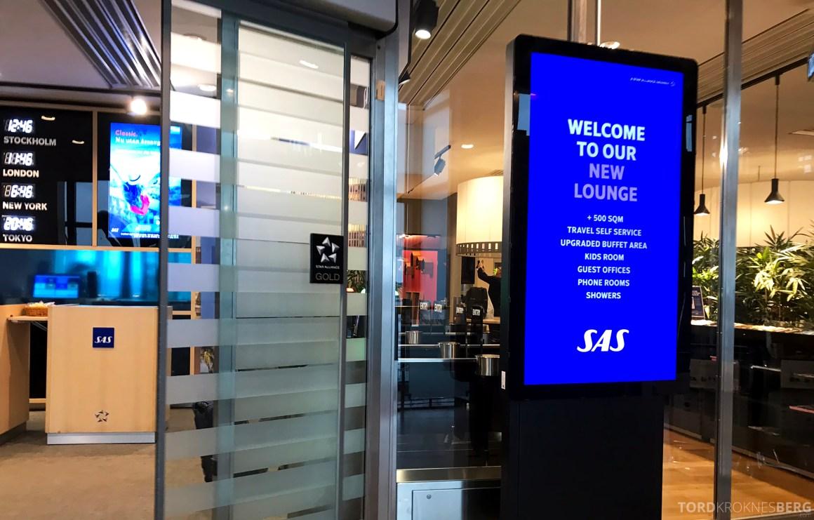 SAS Business Class Stockholm Chicago lounge