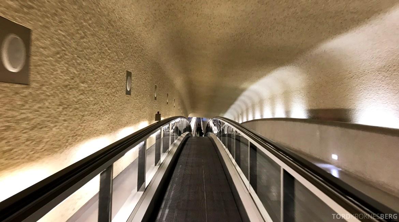 SAS Plus Paris Oslo tunnel
