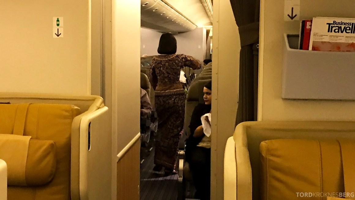 Singapore Airlines Business Class Brisbane Economy