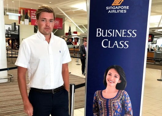 Singapore Airlines Business Class Brisbane Singapore Tord Kroknes Berg