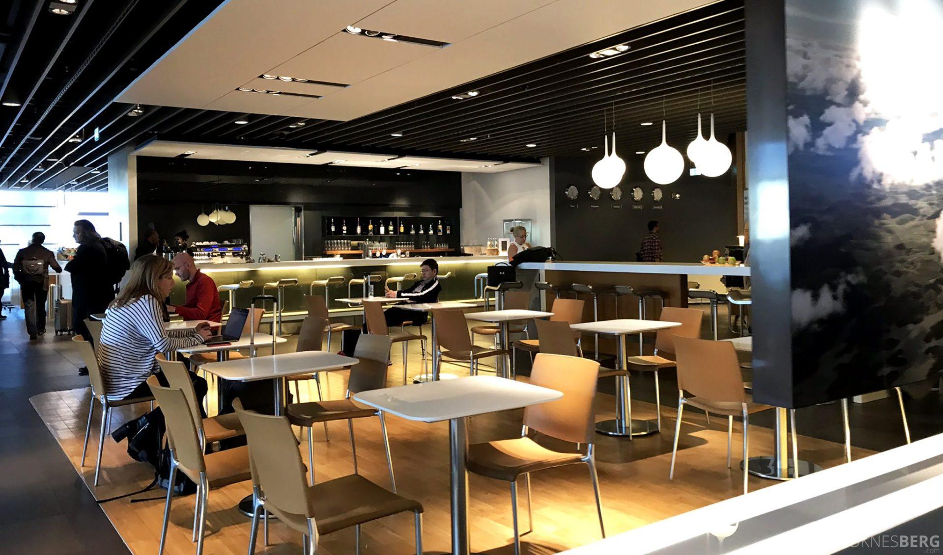 Lufthansa Business Lounge Frankfurt oversikt