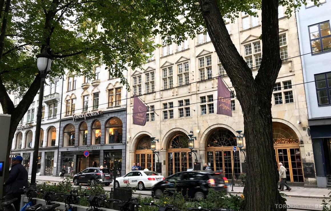 Hotel Christiania Teater Oslo fasade