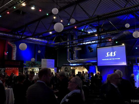 SAS After Work Diamond Event mingling