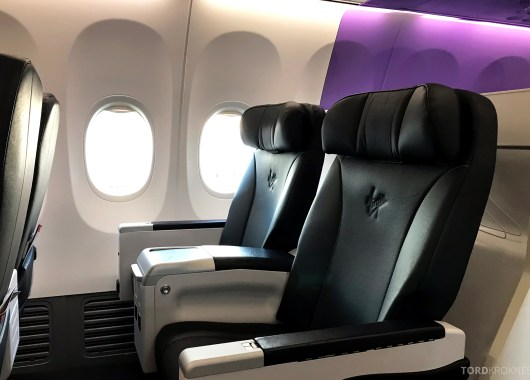 Virgin Australia Business Class Sydney Brisbane sete