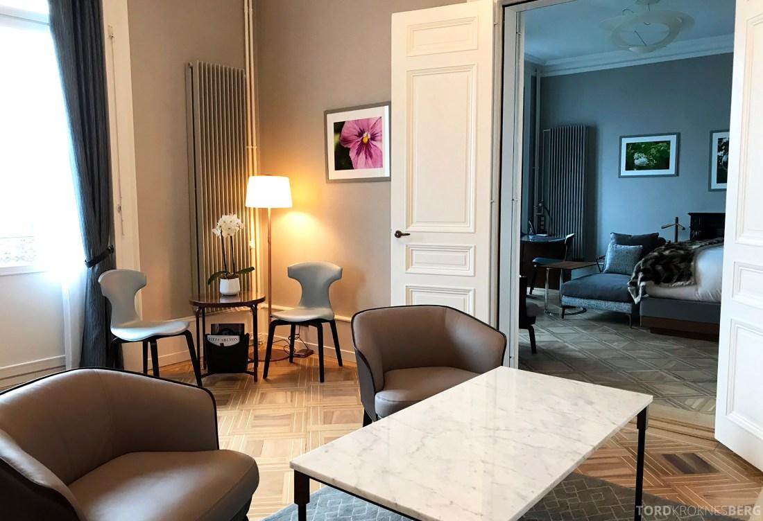 Ritz-Carlton Hotel de la Paix Genève presidentsuite