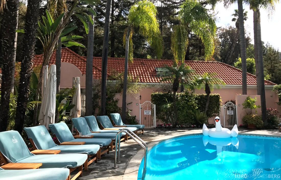 Hotel Bel-Air Los Angeles basseng