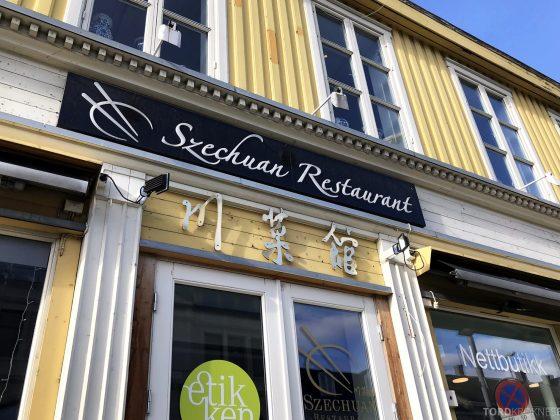 Szechuan Restaurant Trondheim fasade