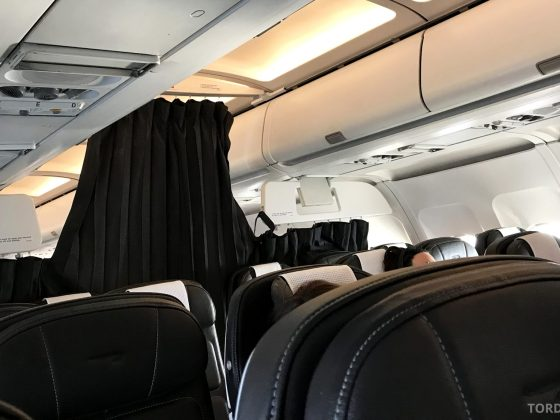 British Airways Business Class Oslo London forheng