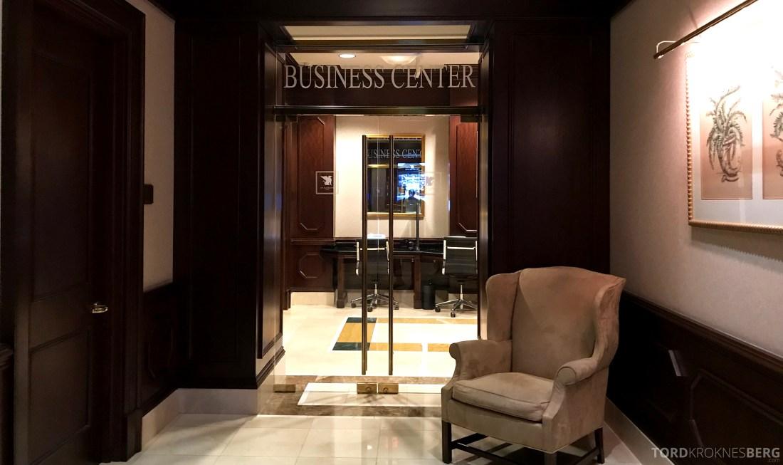 JW Marriott Miami Hotel business center
