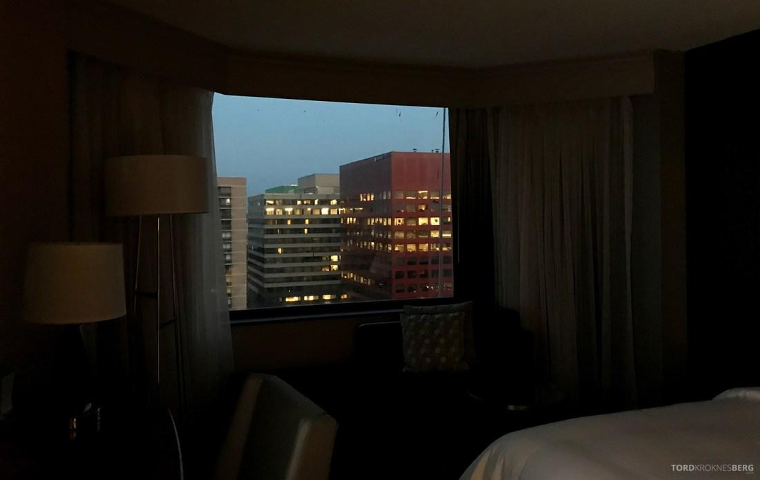 Crystal Gateway Marriott Pentagon Hotel utsikt
