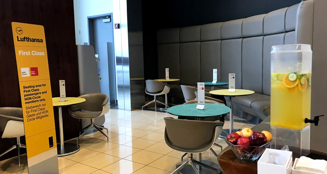 Lufthansa Senator Lounge Washington First Class