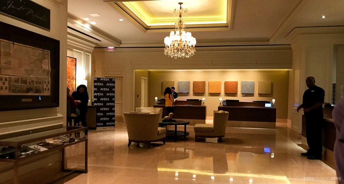 Ritz-Carlton Pentagon City Hotel lobby
