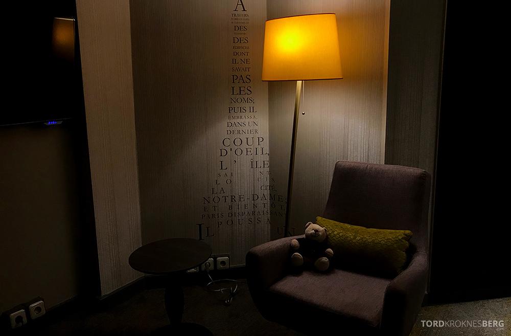 Renaissance La Defense Hotel Paris lesekrok