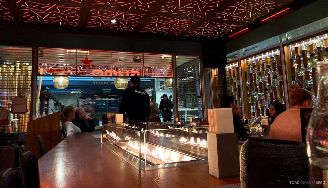 Restaurant Sumo Oslo barbord