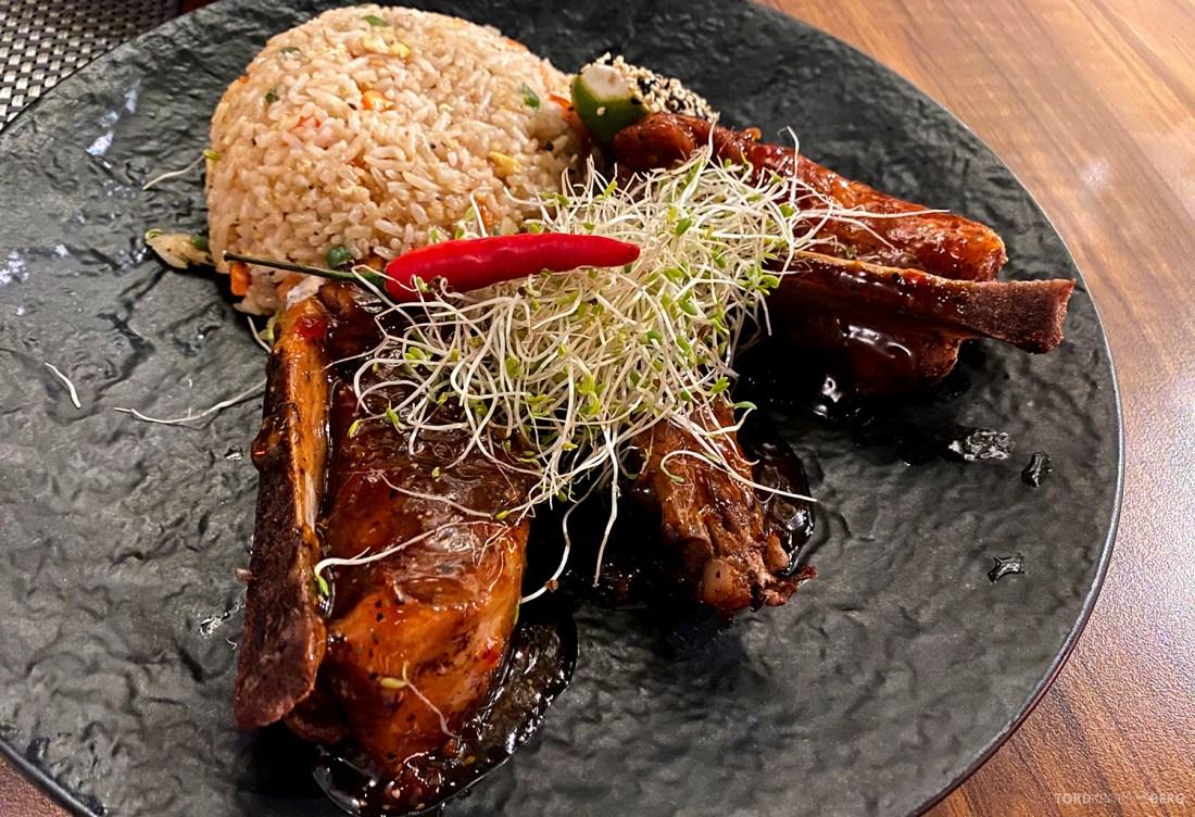 Restaurant Sumo Oslo sticky pork