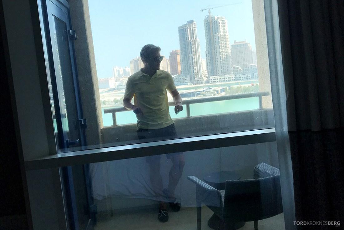 Ritz-Carlton Doha Hotel balkong Tord Kroknes Berg