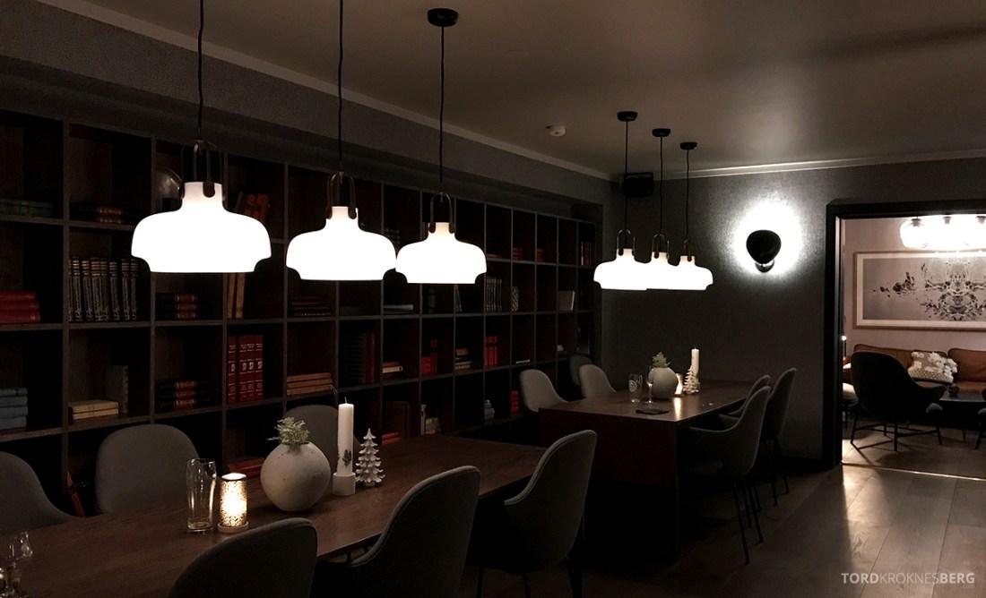 Funken Lodge Svalbard bibliotek