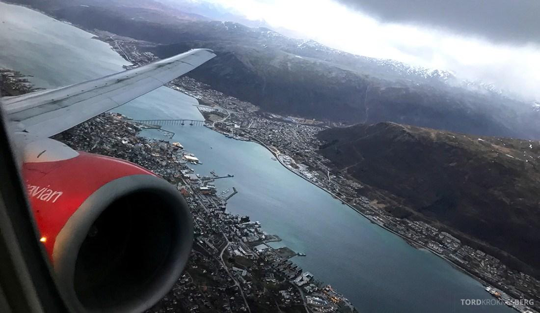 SAS Plus Oslo Svalbard adjø Tromsø