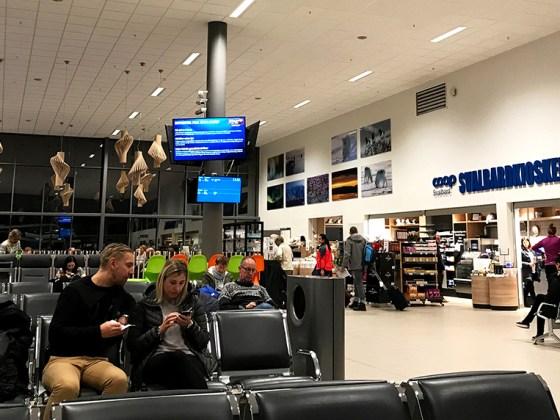 SAS Plus Svalbard Oslo venteområde