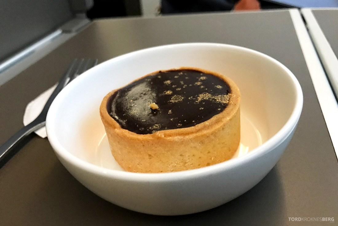 British Airways Club World Business Class London Seoul dessert