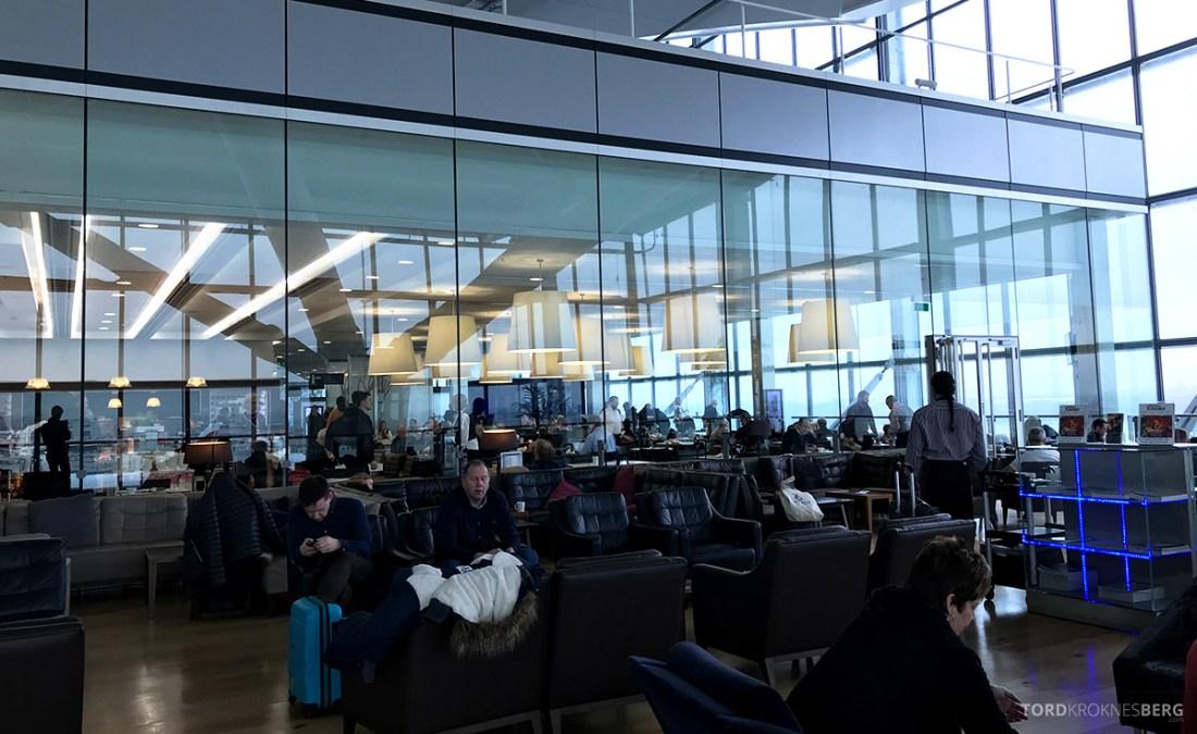 British Airways Galleries Club Lounge Heathrow London terrasse
