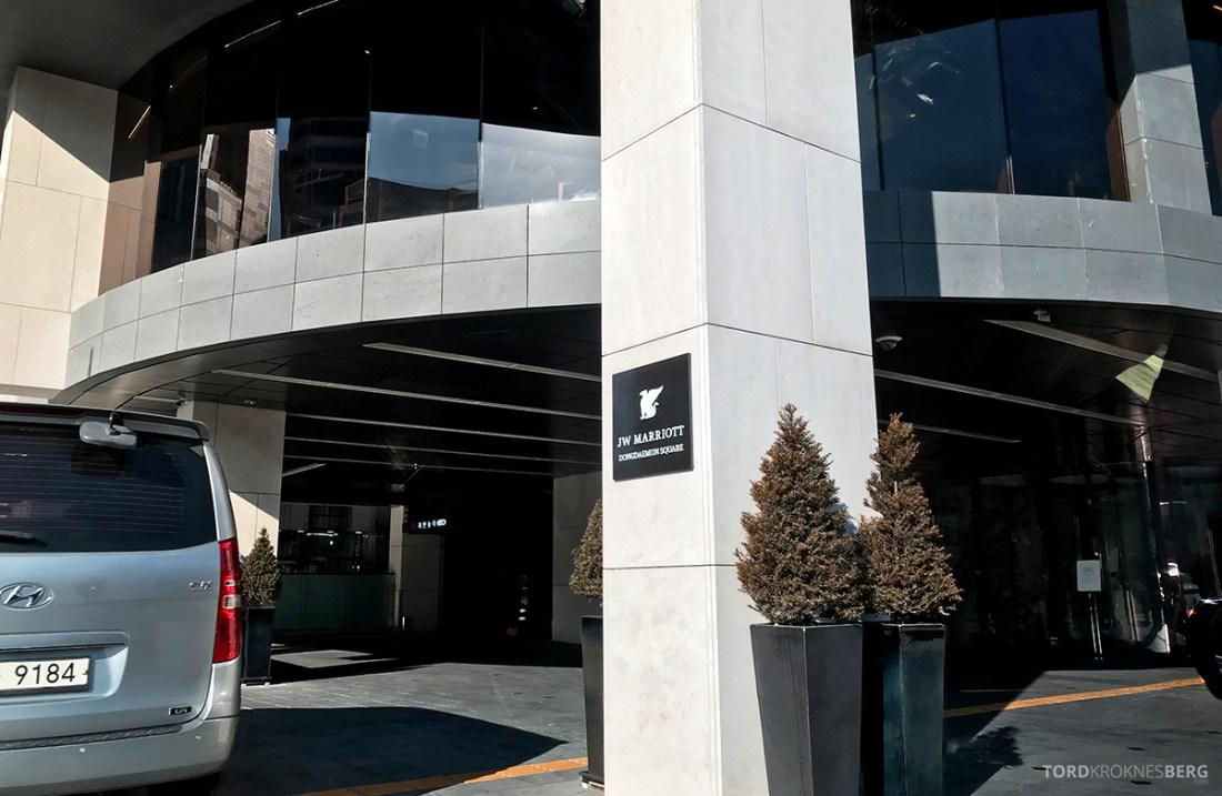 JW Marriott Dongdaemun Square Hotel Seoul inngang