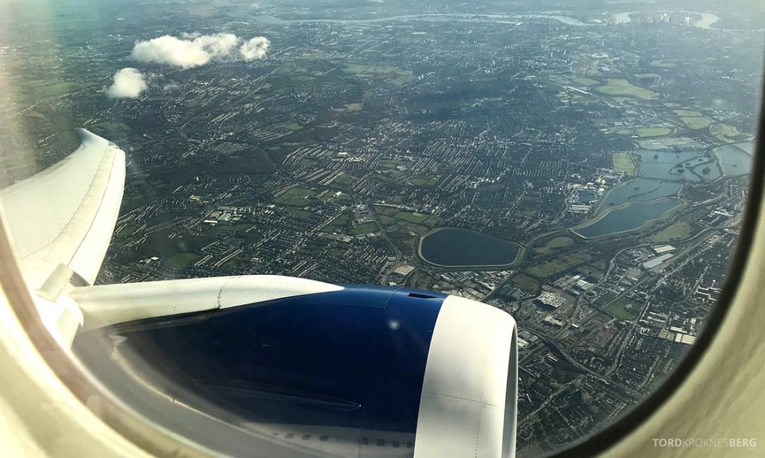 British Airways Club World Seoul London landing