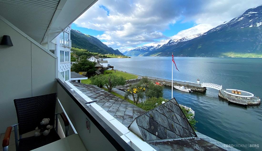 Hotel Ullensvang Hardanger Norge utsikt rom
