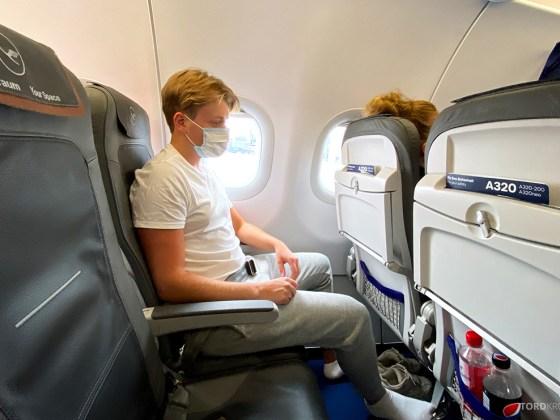 Lufthansa Economy Business Class Covid19 Tord Kroknes Berg ombord