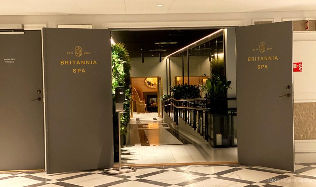 Britannia Hotel Trondheim spa inngang